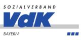 Das Logo von Sozialverband VdK Bayern e.V. Bezirksgeschäftsstelle Oberbayern
