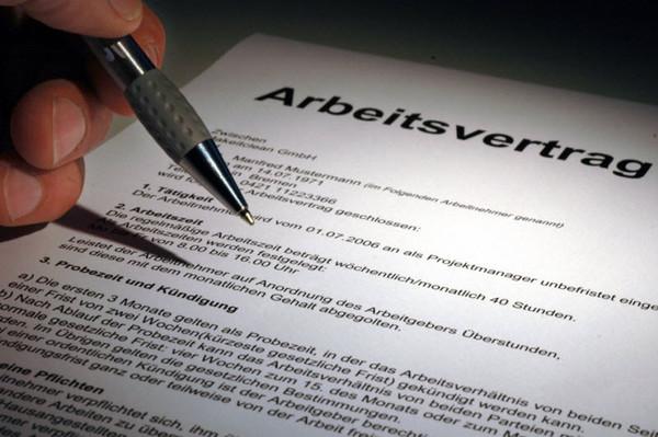 Arbeitsvertrag Und Das Soll Ich Unterschreiben Faz